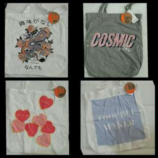 Tote bags by Cotton On