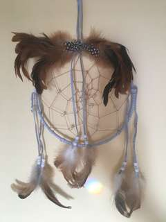 Dream catcher from indigo