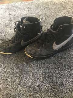 Black and Silver Nike Dunks