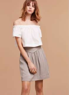 Wilfred Alaine Skirt in Ashen