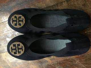 Tory burch inspired ballet shoes