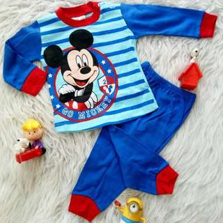 Pyjamas Go Mickey