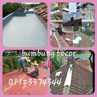Baiki bumbung bocor&renovation