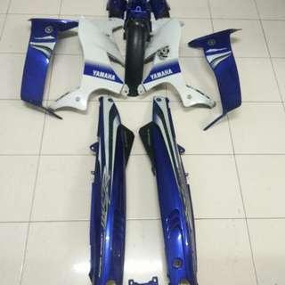 Coverset 125Zr biru GP ori moto