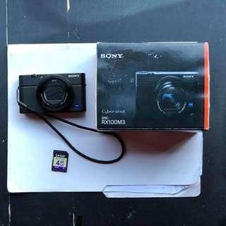 Sony RX100 III with Sony PH Warranty
