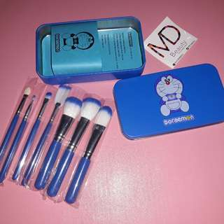 7 Set Kuas Makeup Doraemon