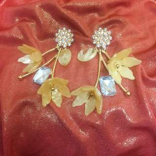 3D Flower Earrings