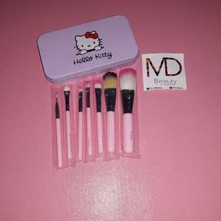 7 Set Kuas Makeup Hellokitty