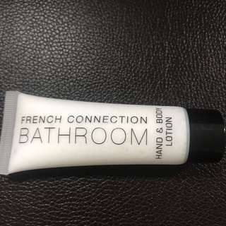 French connection hand and body cream