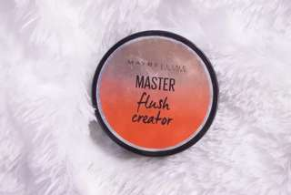 Blush on Master Flush Creator Maybelline - After glow