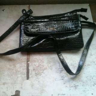 Beba Black Sling Bag