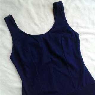 Preloved Fashionice One - Piece Swimwear Large