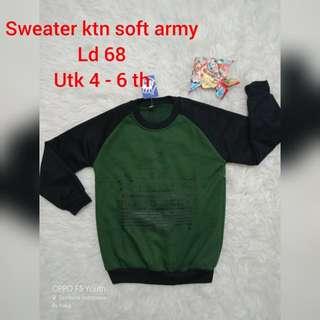 Sweeter katun soft Army