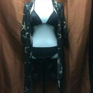 maxi kimono swimsuit cover-ups
