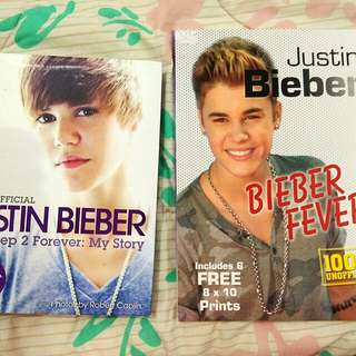 🆕2 x Justin Bieber Books