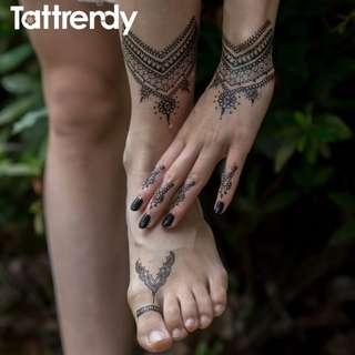 Henna Designs temporarily tattoo. Brand new