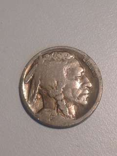 Old Coin USA 5 cents