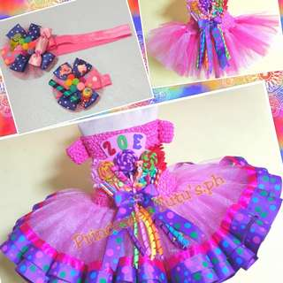 Tutu Dress/Candyland Theme