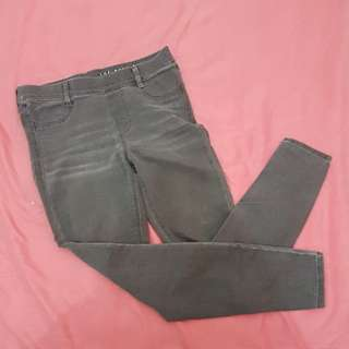 The Pull On Jeans Cotton On Celana Jeans Jegging Charcoal Grey
