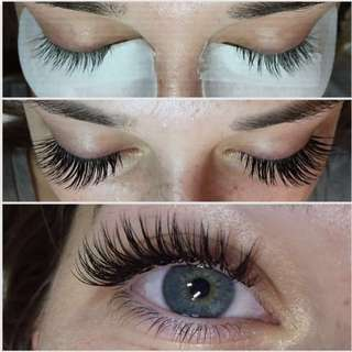 Eyelash Extensions And Skin Care Service