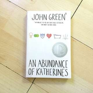 The Abundance of Katherines by John Green