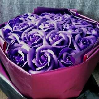 Soap flower