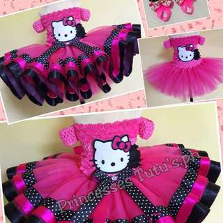 Tutu Dress/Hello kitty