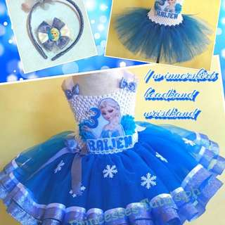 Tutu Dress/Frozen Theme