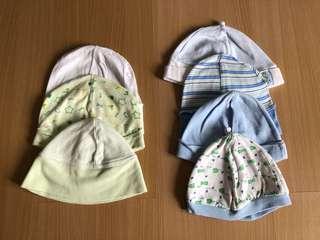 Assorted bonnets