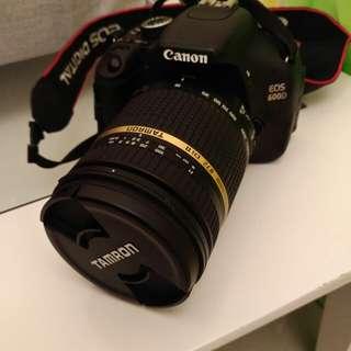 Canon EOS 600D + Tamron 18-270