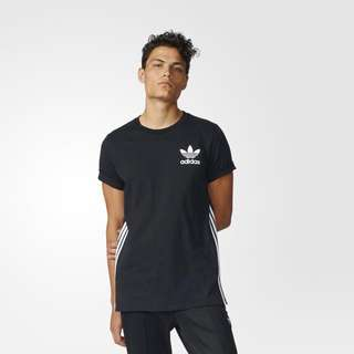Adidas Originals Elongated Tee Black