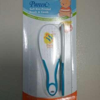 Soft rim brush & comb