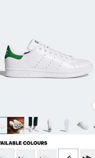 Adidas Stan Smith shoes (2 pairs)