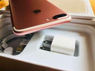 Iphone 7plus Rosegold 32 gb 98% smooth like new lady Own kaya maingat po