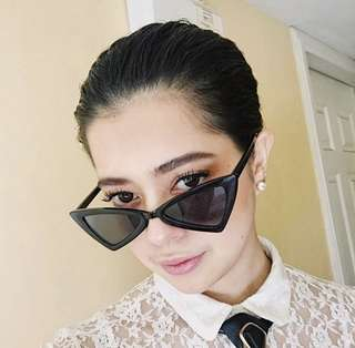 Ribbon Sunnies in Black