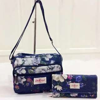 Cath kidston bag and wallet