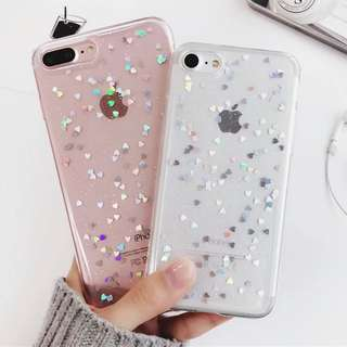 Luxury Bling Glitter Silicon Case for Iphone