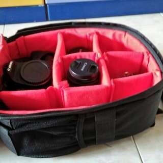 Mini camera bag pack