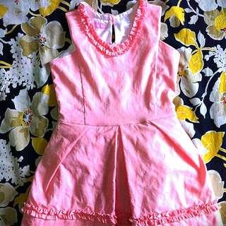 Pink Girl Dress