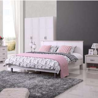 Brand New Double Bedside Suite in Discount 4pc only $540 offer end soon