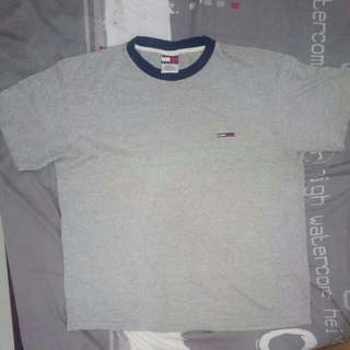 Tommy hilfiger grey shirt L