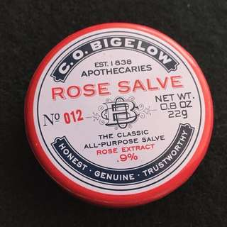 C. O. Bigelow Rose Salve Apothecaries