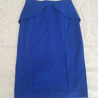 SHEIKE Peplum Skirt - Size 8