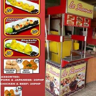 Foodcart kiosk maker