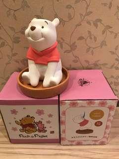 🚚 全新 日本迪士尼商店維尼陶瓷加濕器