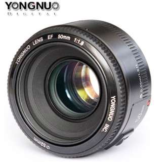 Lens 50mm f1.8 for canon