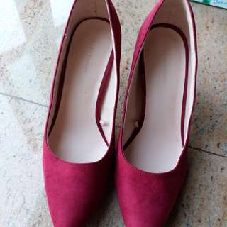ZARA pointed toe heels