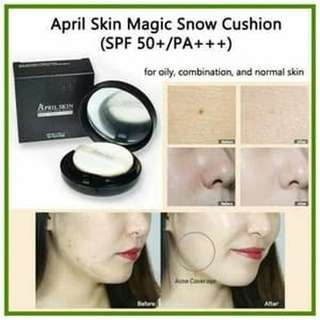 [BLACK] April Skin Magic Snow Cushion BB Cream