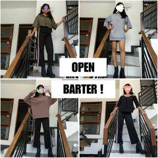 OPEN BARTER !