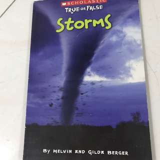 Storms, children book